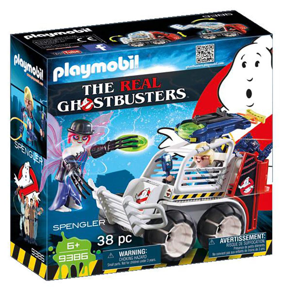 Ghostbusters - Spengler et voiturette