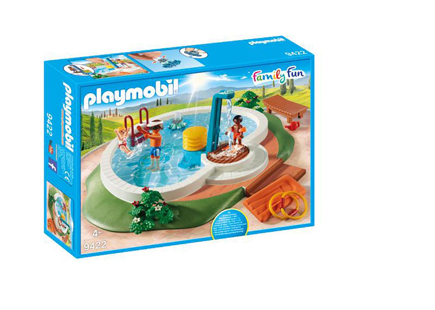 Family Fun - Piscine avec douche