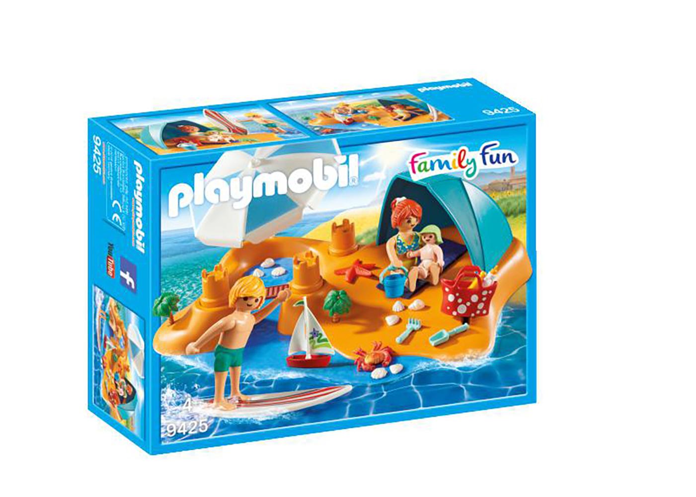 Family Fun - Famille à la plage