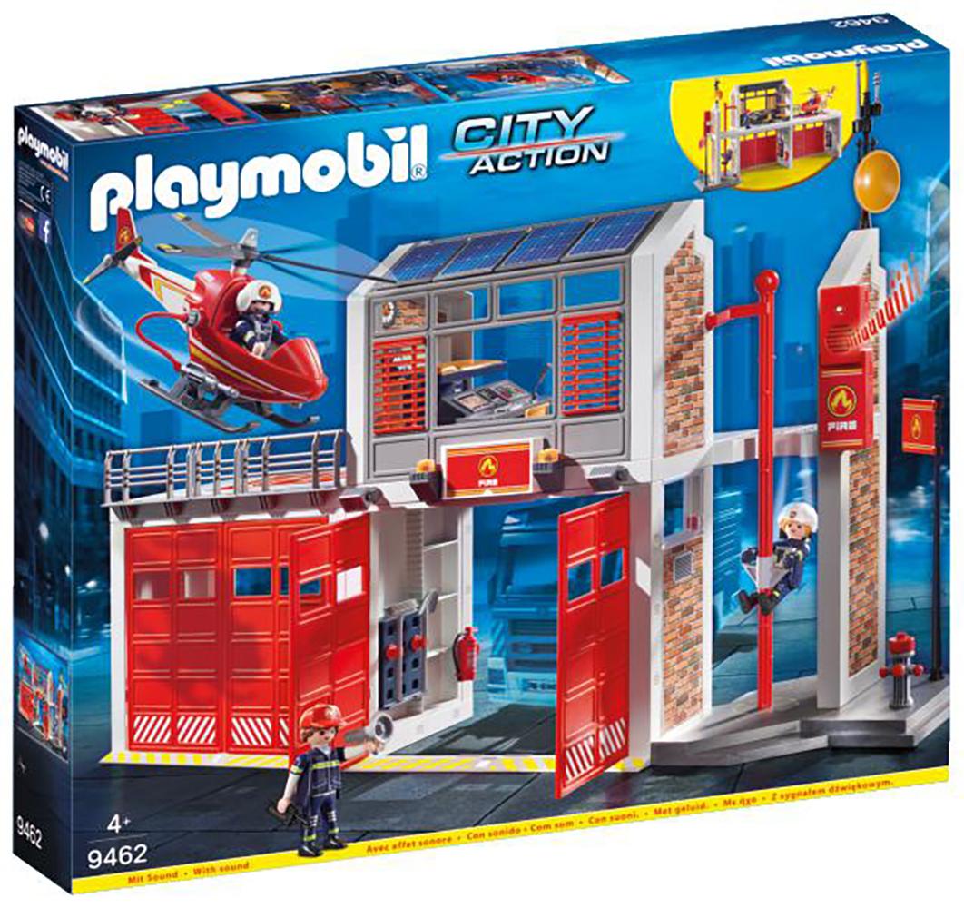 City Action - Caserne de pompiers