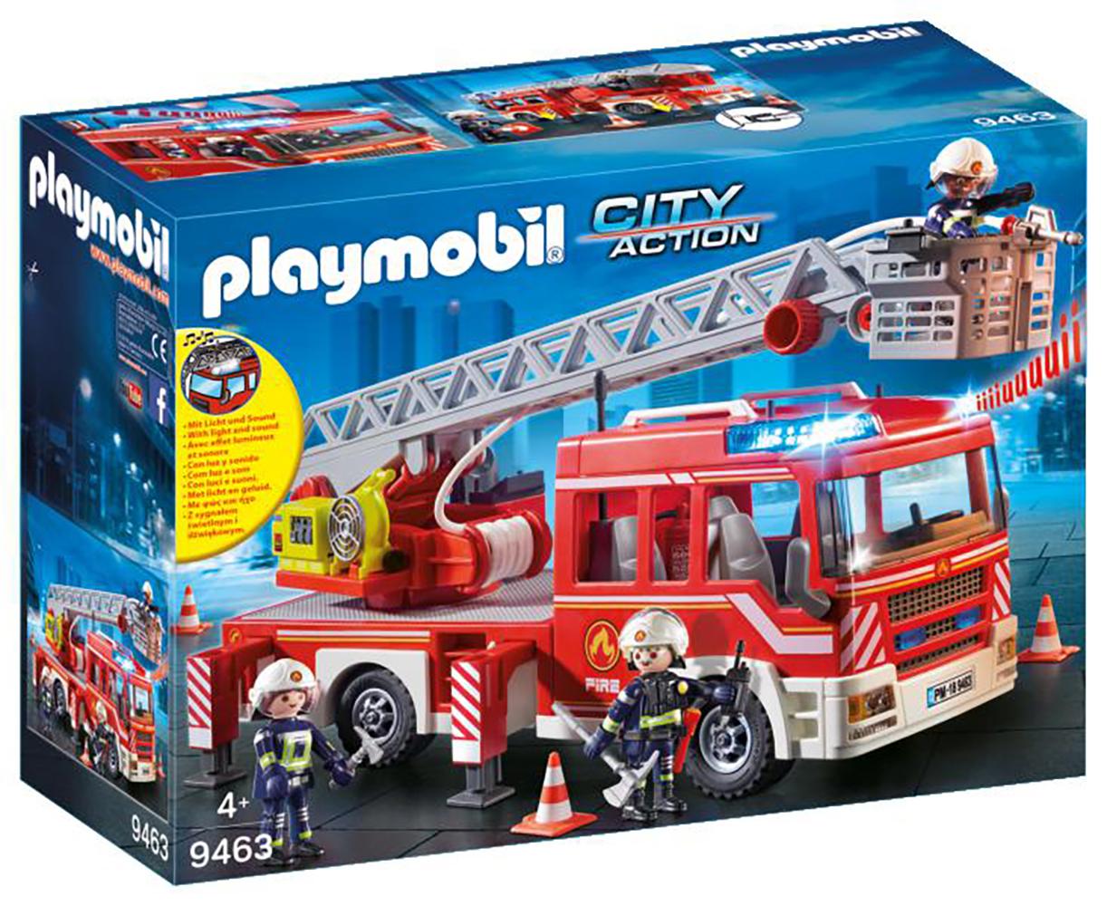 City Action - Camion de pompiers avec échelle