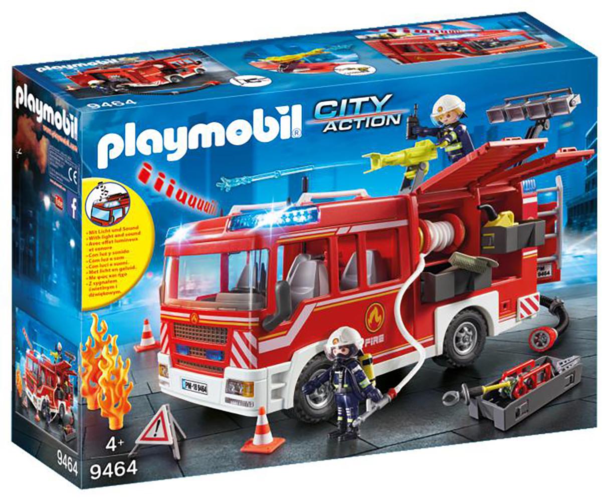 City Action - Fourgon d'intervention des pompiers