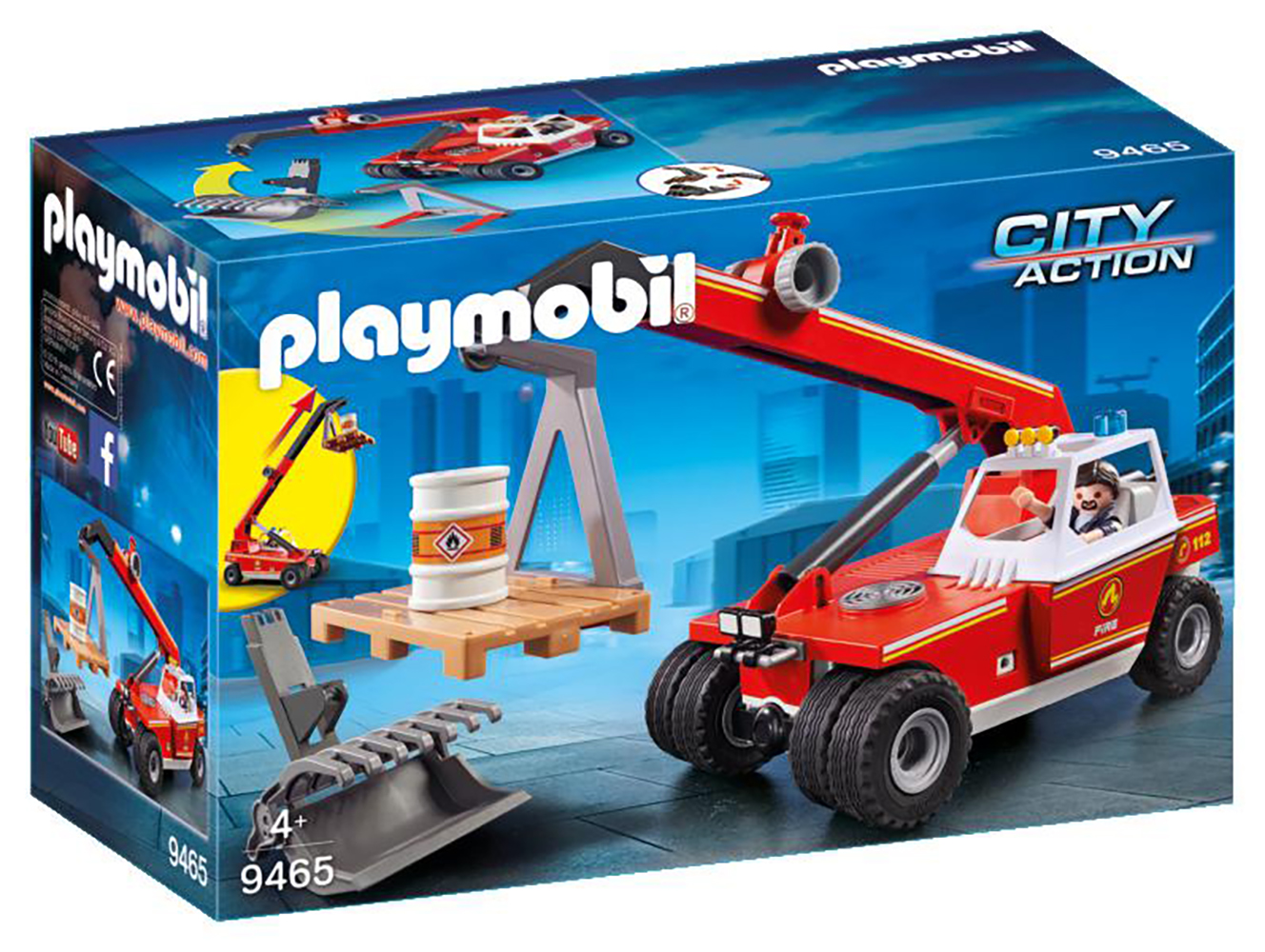 City Action - Grue mobile pompiers