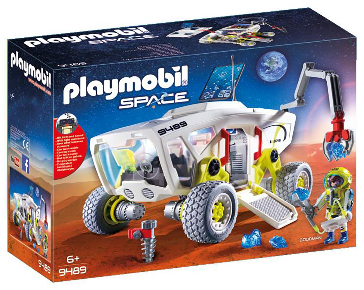 Space - Véhicule de recherche spatiale