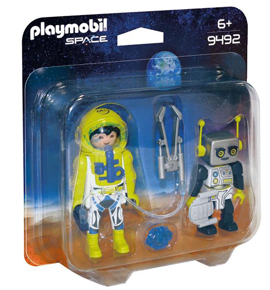 Space - Astronaute et robot