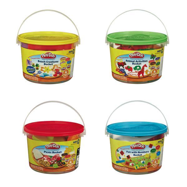 Play-Doh Mini seau 4 modèles assortis