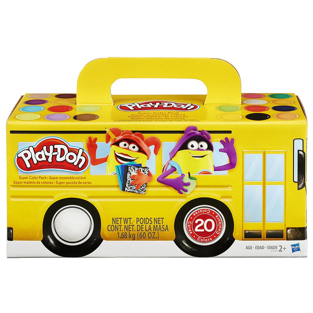Play-Doh Super ensemble coloré 20 pièces