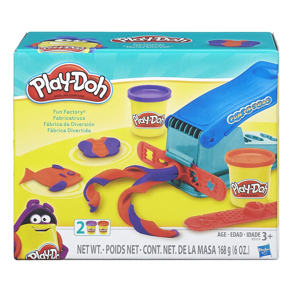 Play-Doh Ensemble Fabricatrucs