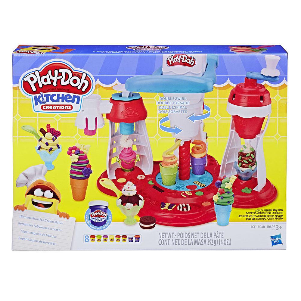 Play-Doh Sorbetière fabuleuses torsades