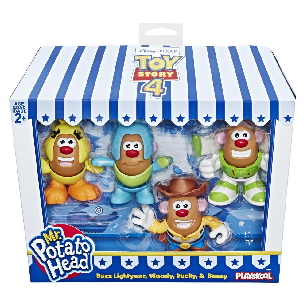 Monsieur Patate - Histoire de jouets 4 Ensemble de 4 mini figurines