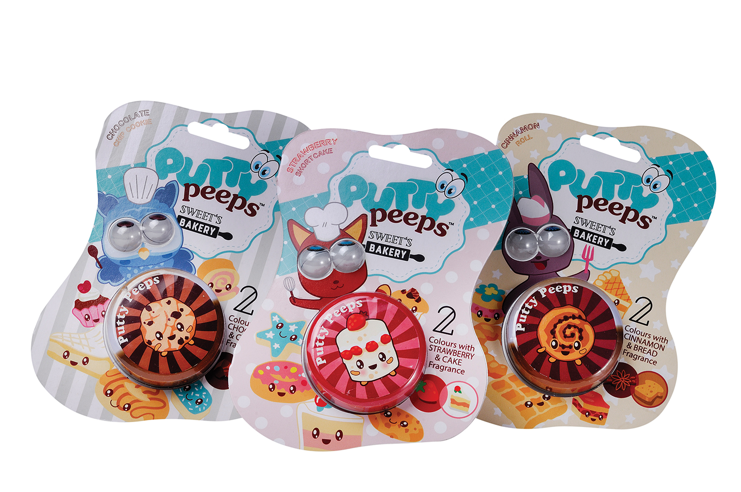 Putty Peeps - Boulangerie à bonbons assortis