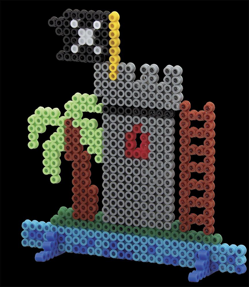 Hama - Boite 3000 perles Pirates