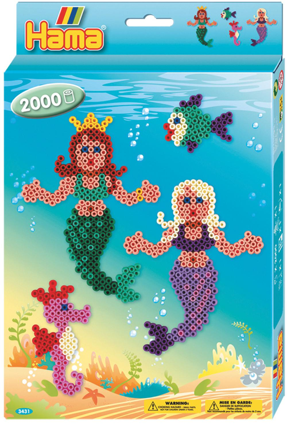 Hama - Boite 2000 perles Sirènes