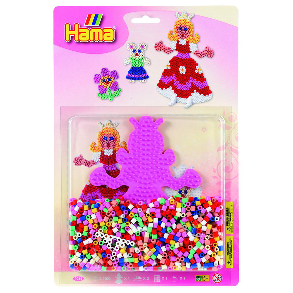 Hama - Perles et base assorties