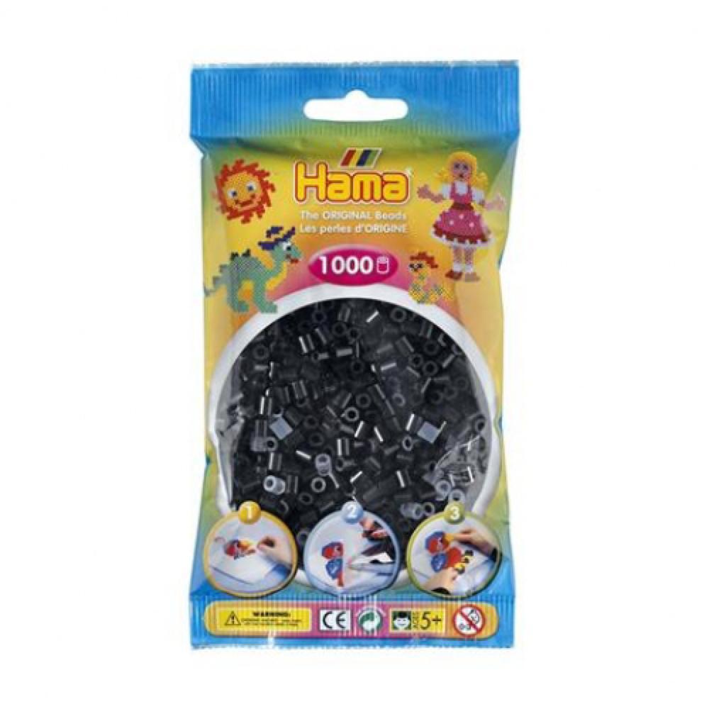 Hama - Sac 1000 perles noires