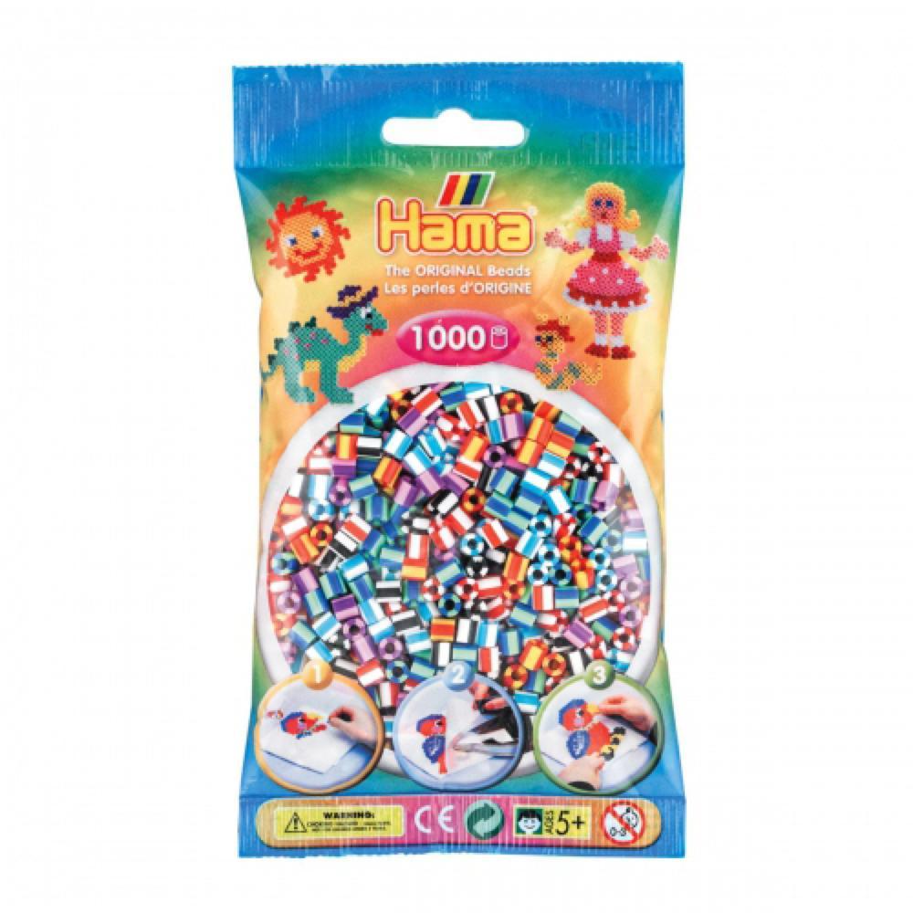 Hama - Sac 1000 perles bicolores