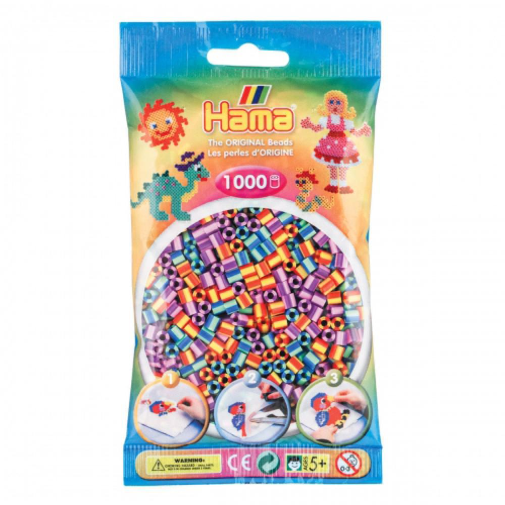 Hama Sac de 1000 perles bicolores