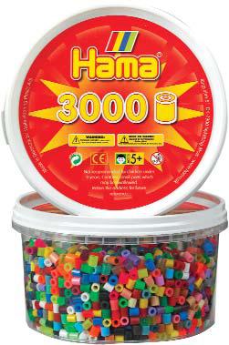 Hama - Seau de 3000 perles