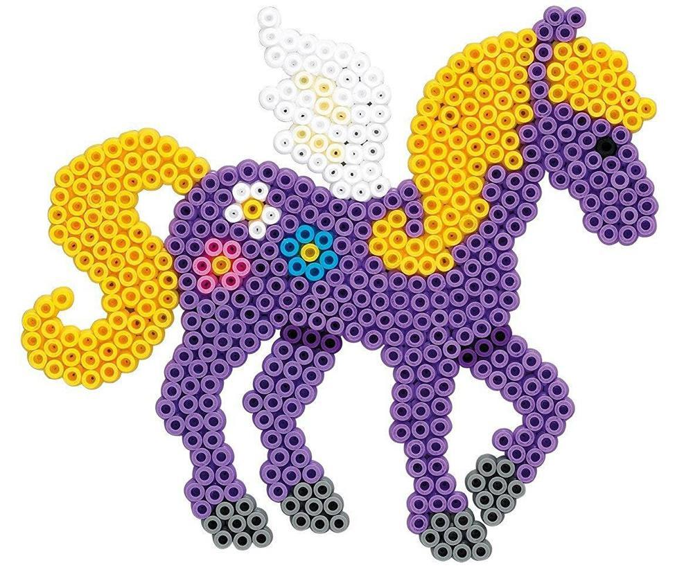 Hama - Boite 4000 perles Chevaux magiques