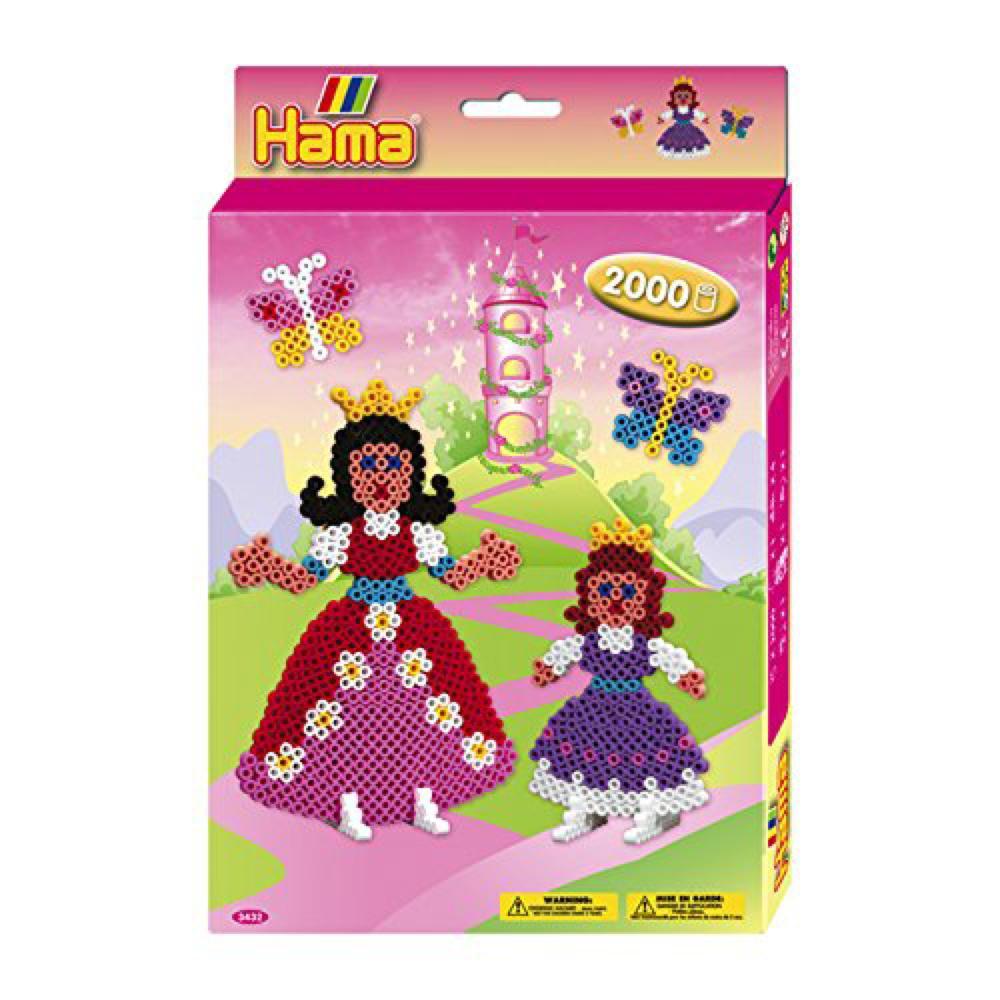 Hama - Boite 2000 perles Princesse