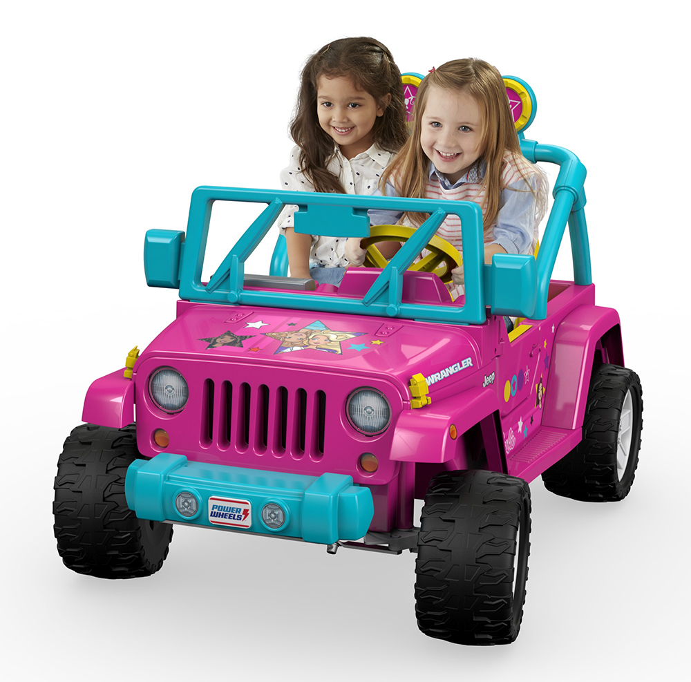 Power Wheels - Barbie Jeep Wrangler