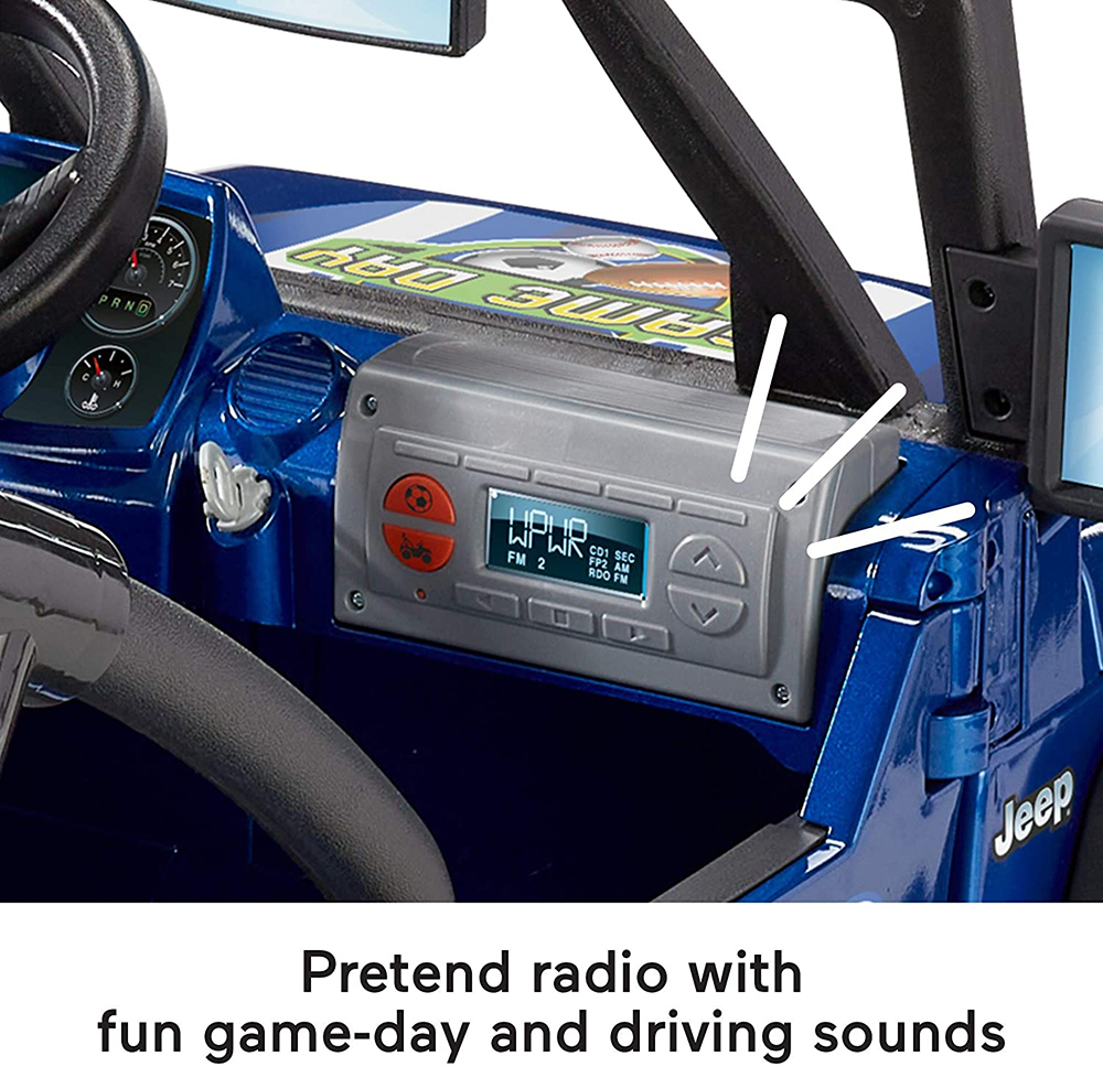 Power Wheels - Jeep Wrangler Jour de match