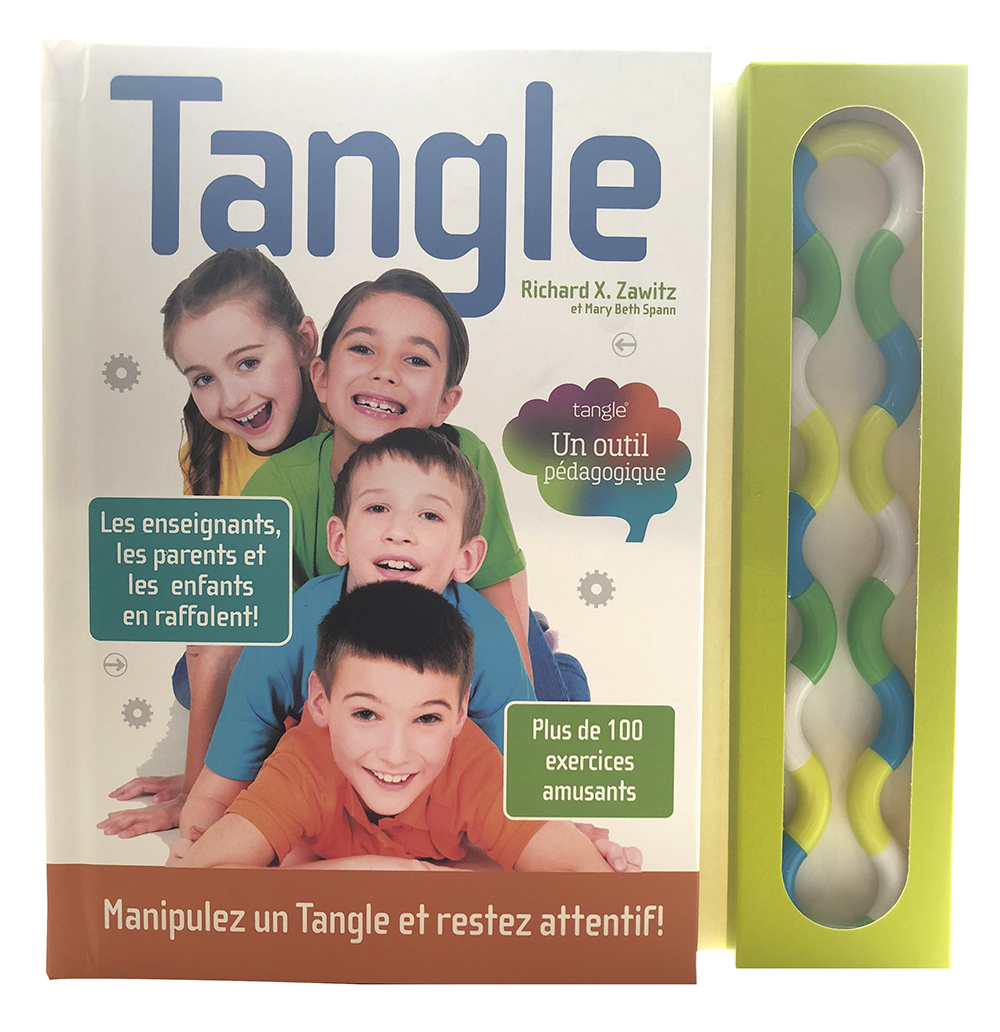 Livre Tangle Brain Tools; un outil pédagogique : plus de 100 exercices amusants Version française