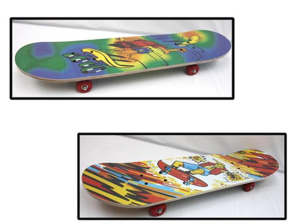 Planche à roulettes en bois 78cm