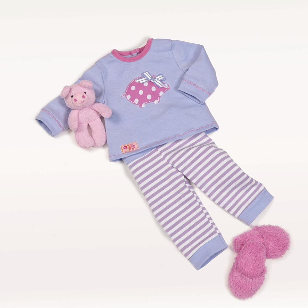 Ensemble OG pyjama - Morning, Noon and Nighty pour poupée de 46 cm
