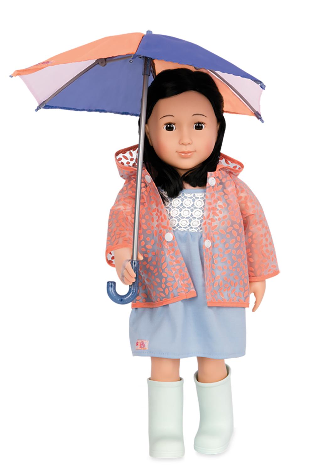 Ensemble de luxe OG - Brighten up a rainy day pour poupée de 46 cm