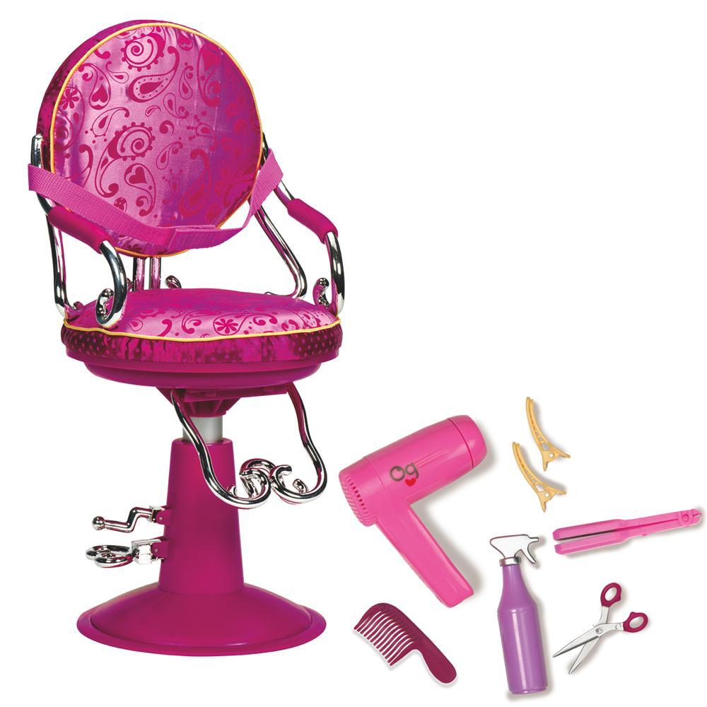 Chaise de coiffeur pour poupée 46 cm Club Jouet achat de Jeux et Jouets  prix Club