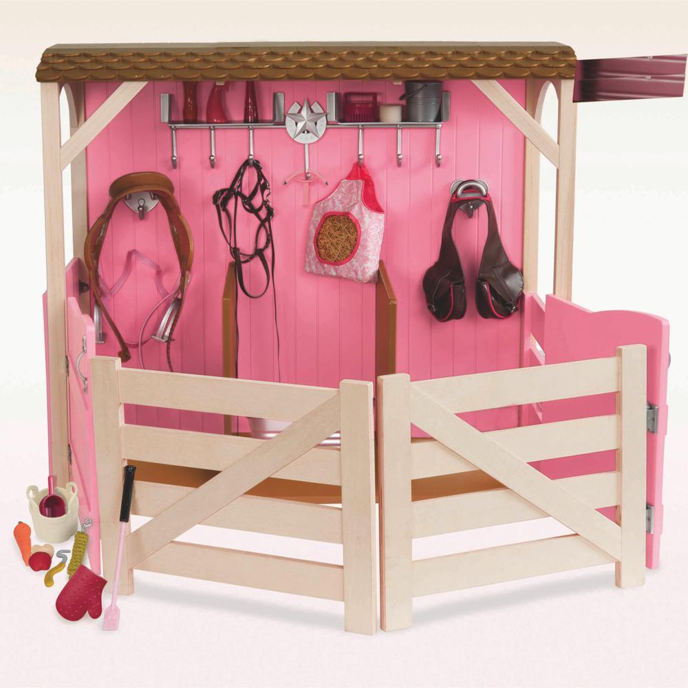 Ensemble OG - Écurie Saddle-up pour poupée de 46 cm