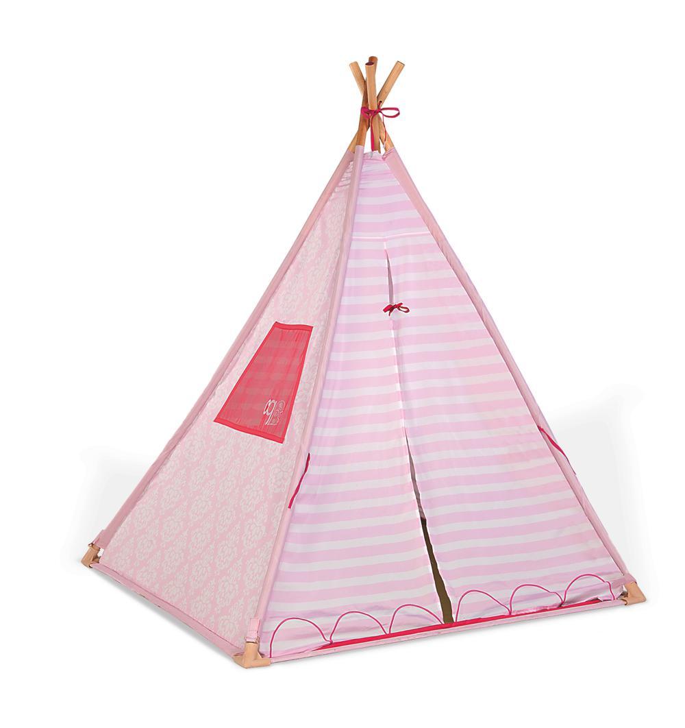 Ensemble OG - Tente Suite Teepee pour poupée de 46 cm