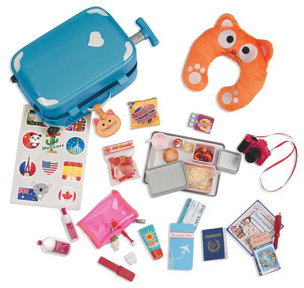Accessoires OG - Well Traveled Luggage Set pour poupée de 46 cm