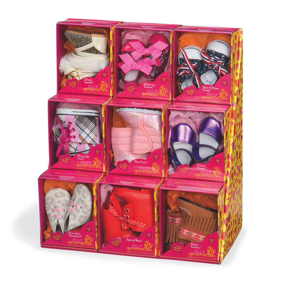 Accessoires OG - Chaussures assorties pour poupée de 46 cm