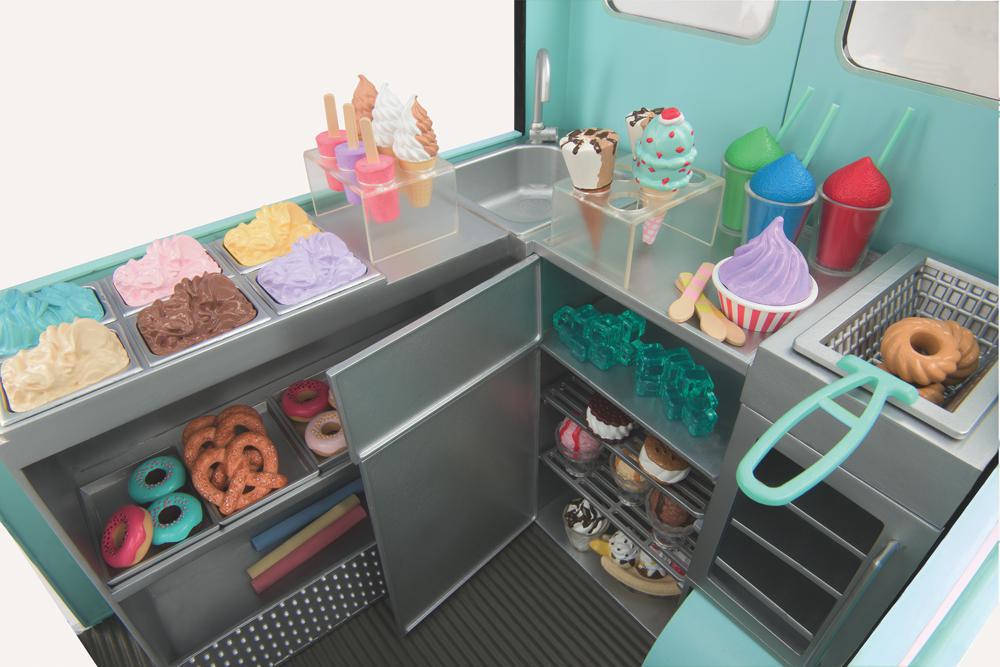 Camion à crème glacée Sweet Stop pour poupée OG de 46 cm