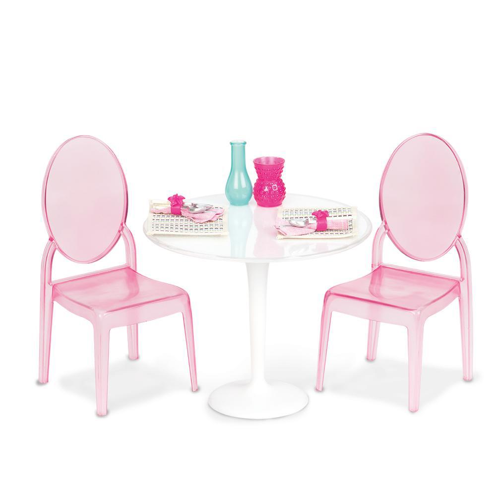 Ensemble OG - Table et chaises pour deux pour poupée de 46 cm