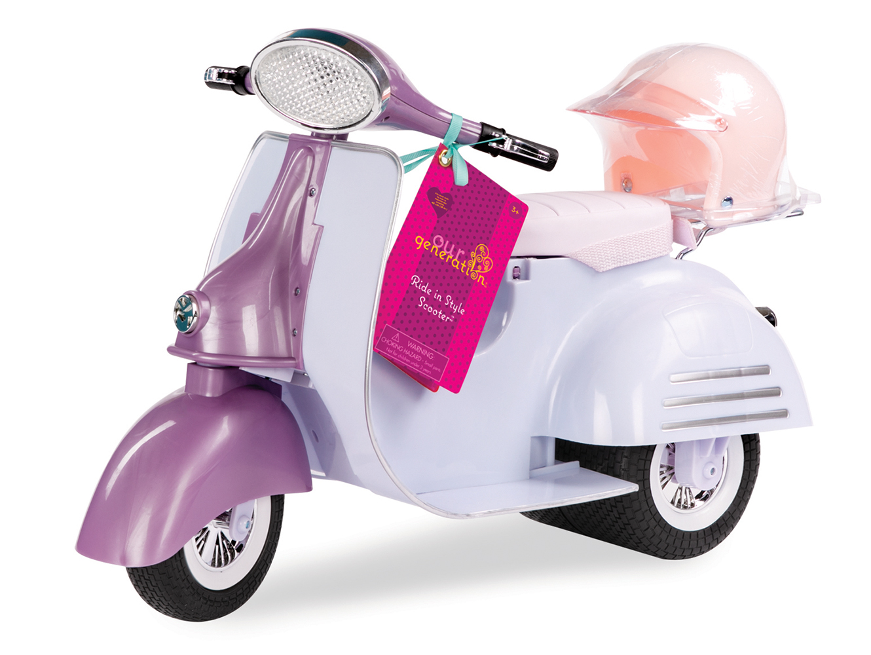 Accessoires OG - Scooter Ride In Style pour poupée de 46 cm