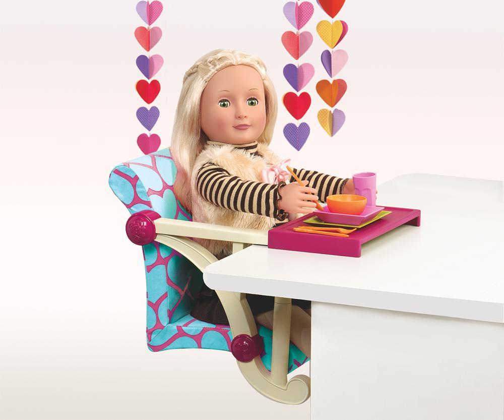 chaise de table pour poup e 18 39 39 club jouet achat de jeux et jouets prix club. Black Bedroom Furniture Sets. Home Design Ideas