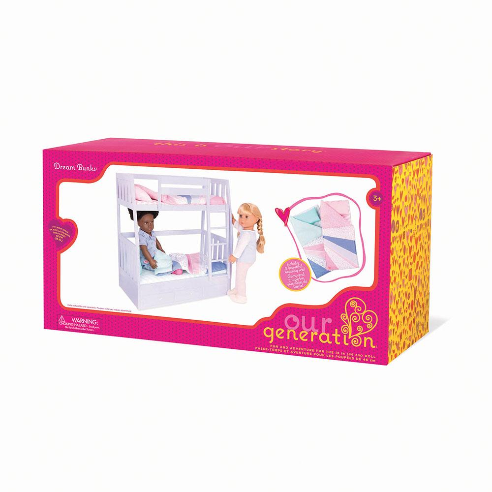 Accessoires OG - Lits superposés Dream Bunks pour poupée de 46 cm