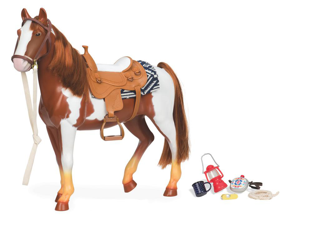 Cheval OG - Appaloosa pour poupée de 46 cm