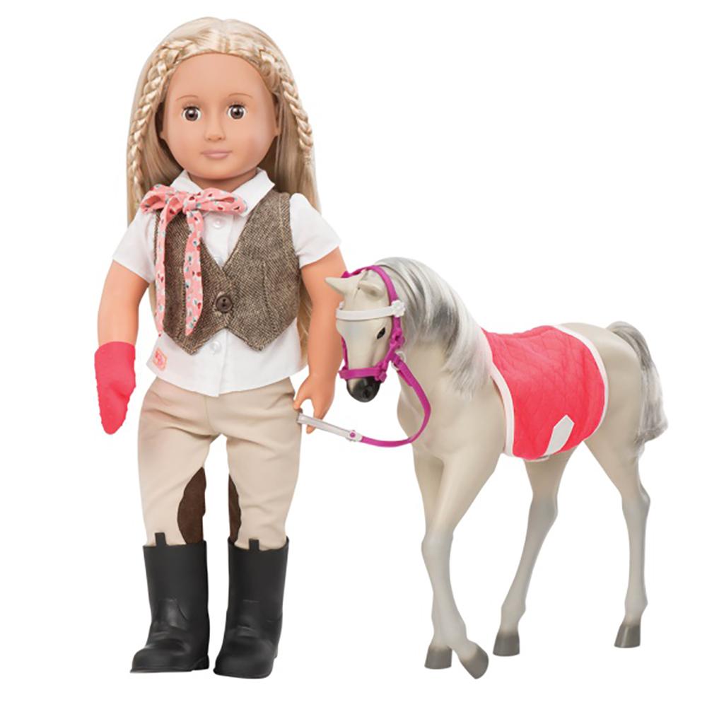 Cheval OG - Poulain Mustang 30 cm pour poupée OG de 46 cm
