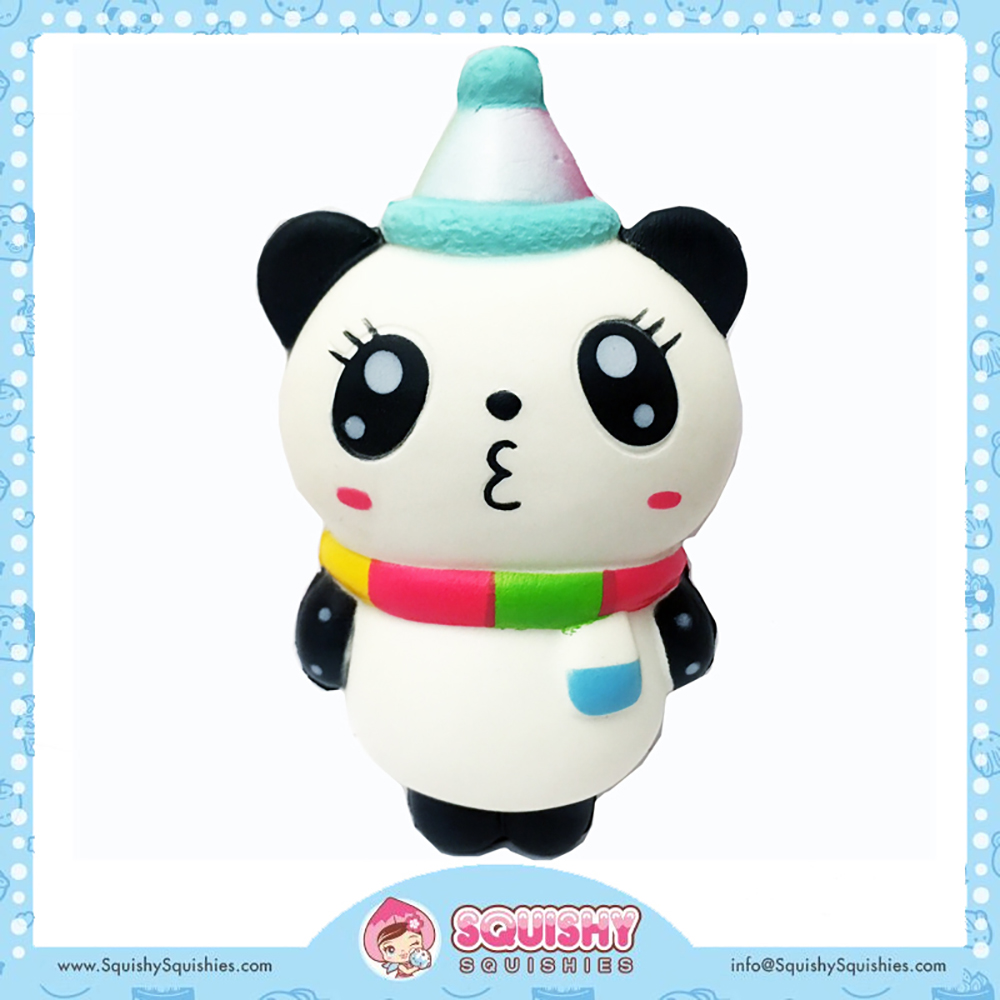 Squishy - Panda de fête moyen