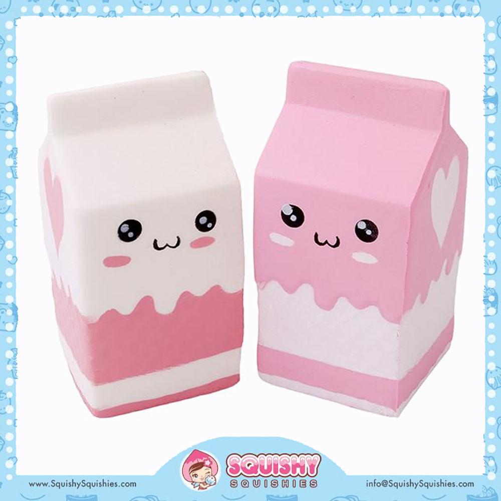 Jumbo Squishy Carton de lait