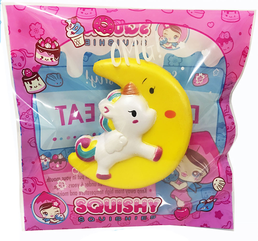 Medium squishy - Licorne Lune