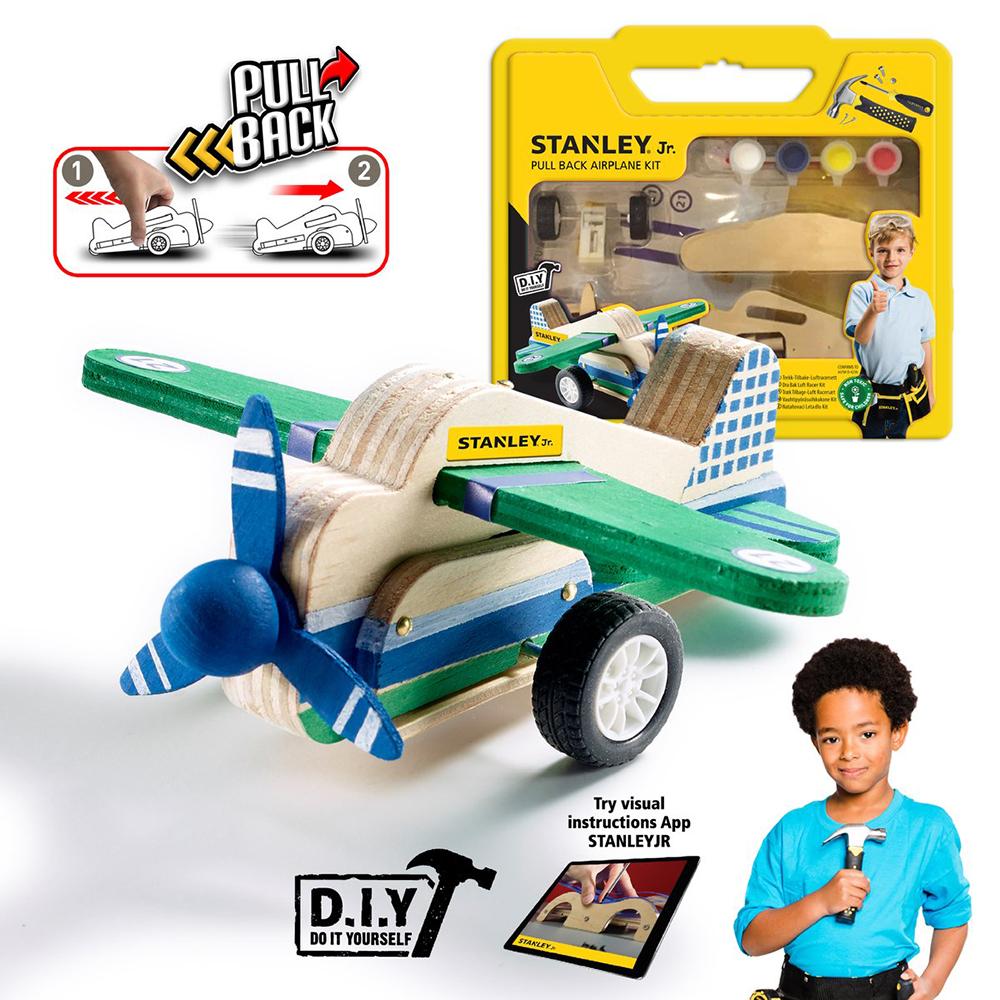 Stanley Jr. - Avion à friction à construire