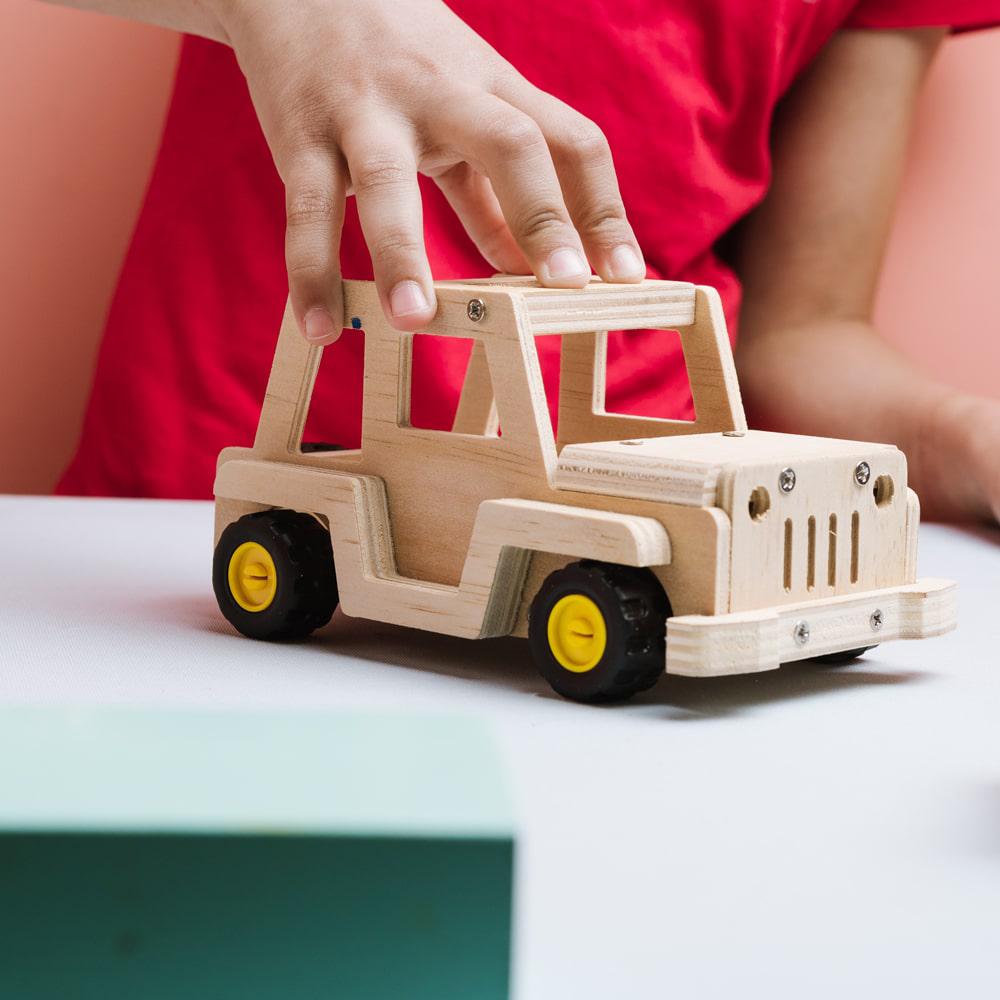 Stanley Jr. - Jeep Off-Road à construire