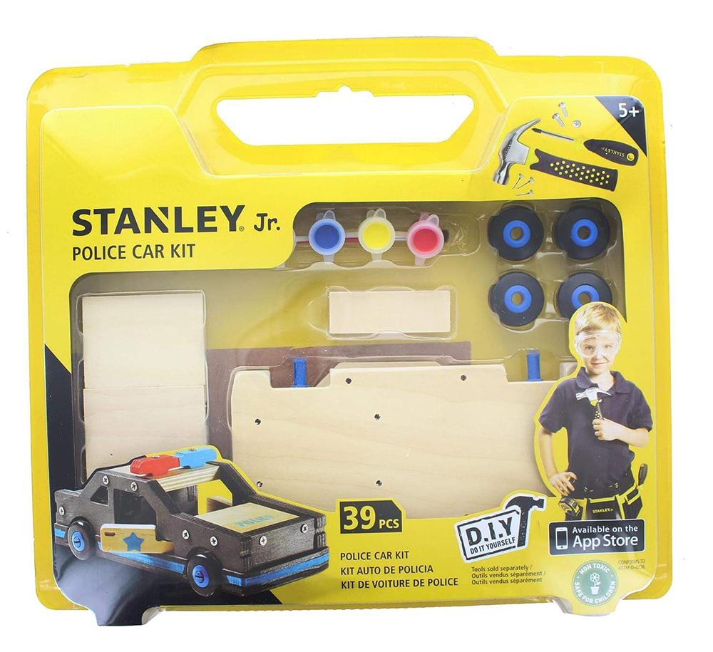 Stanley Jr. - Voiture de police à construire