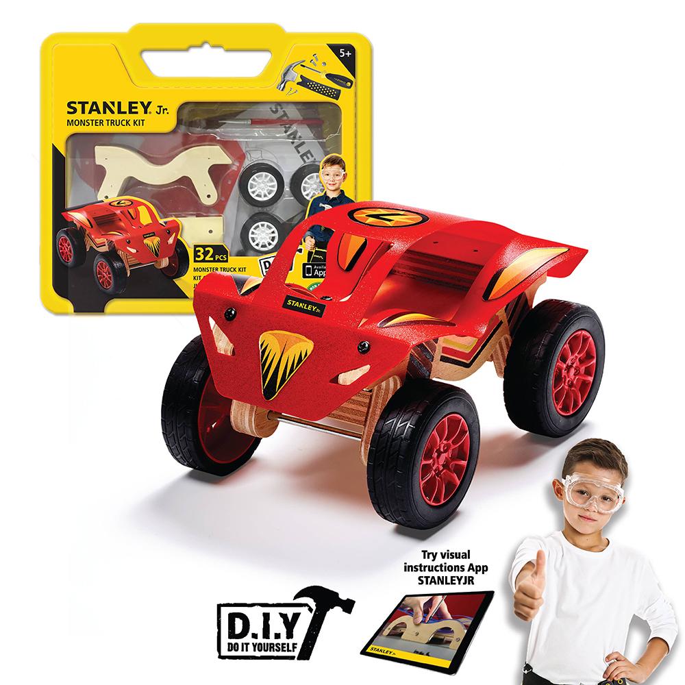 Stanley Jr. - Camion monstre à construire