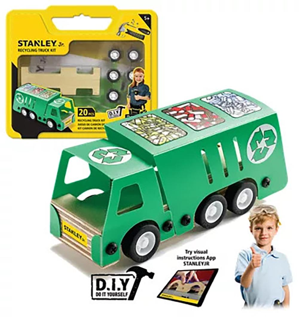 Stanley Jr. - Camion de recyclage à construire